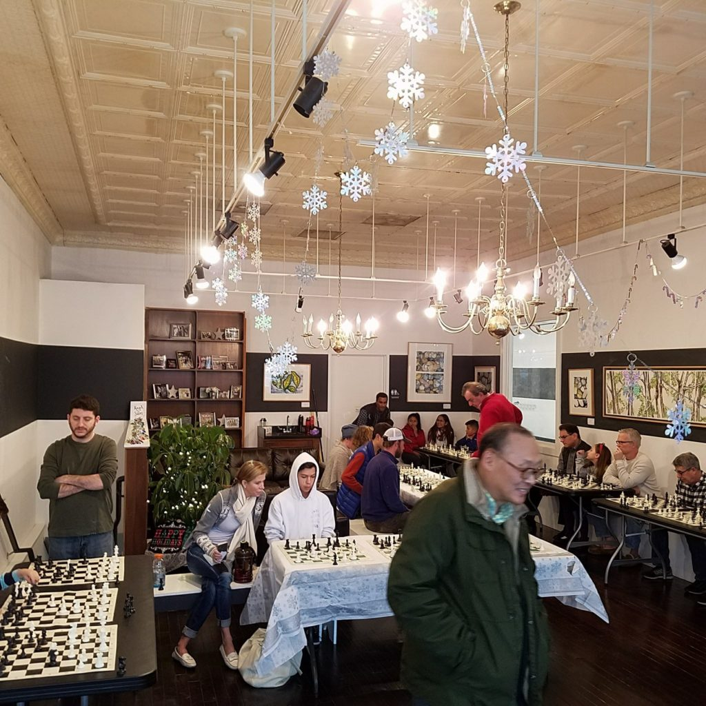 Chess club events