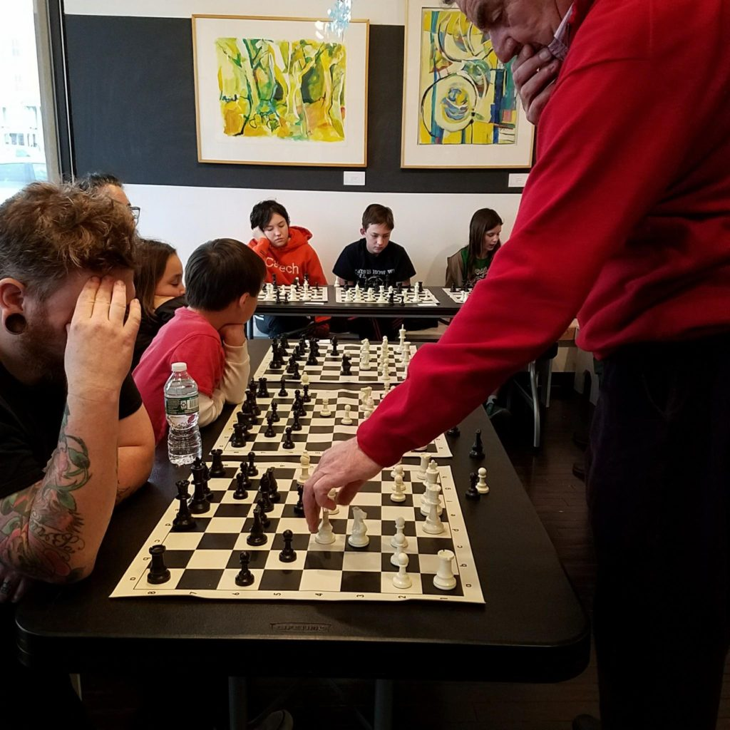 Chess tournaments